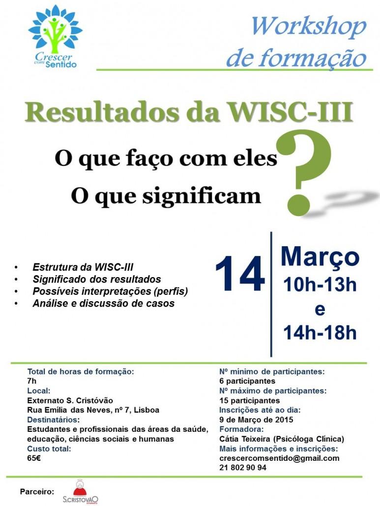 Formação Resultados da WISC-III_MAR